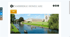 Preview of cambridgehomecare.co.uk